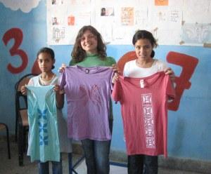 T-Shirt workshop in Boujad