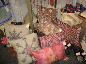 Mushmina pillows from $58+ available at Grand Central Station and 1540 South St. Philadelphia