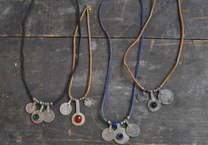 Berber Vintage Coin Collection Necklaces