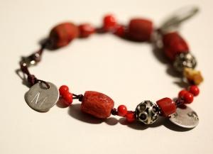 Coral Bracelet Mushmina