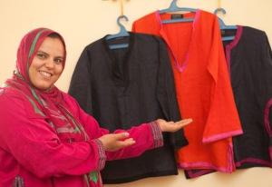Malika the seamstress (1)