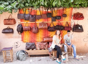 Rachid and Mohammed, Leatherworkers (13)