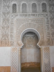 One of Morocco's famous  mosques.