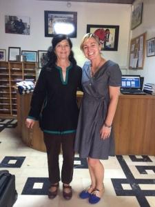 Ellen, the current PC Director and I