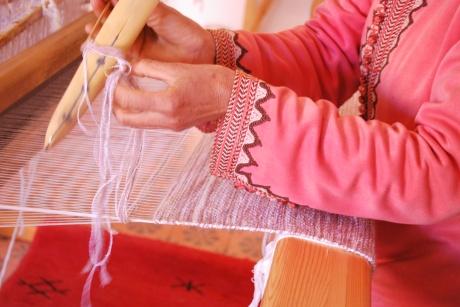 EBF weaving lady.JPG