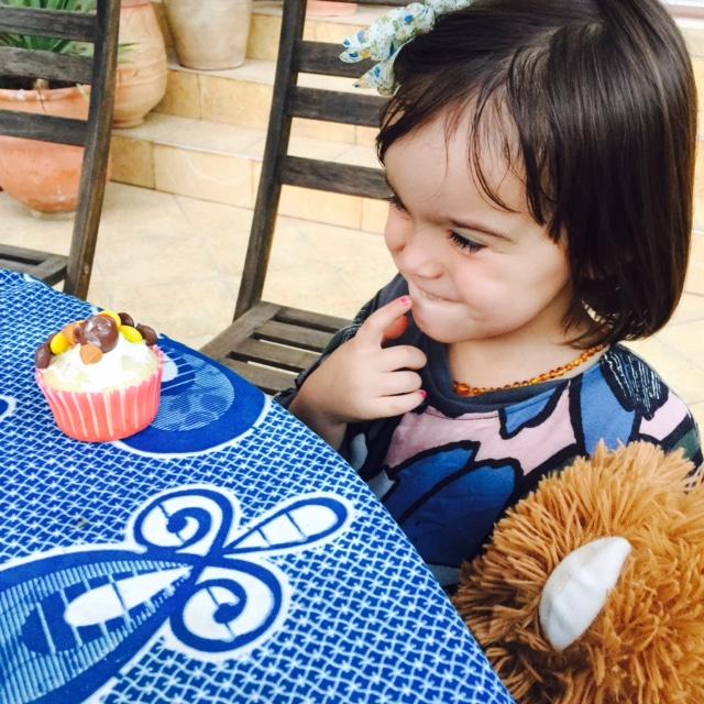 Pondering turkey cupcakes!