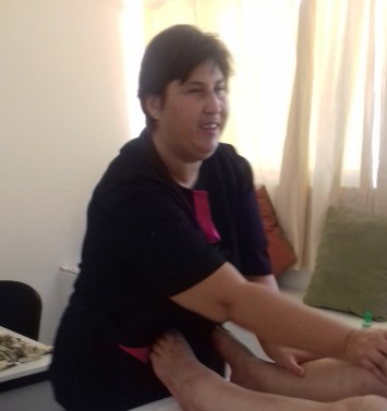 Loubna the masseuse