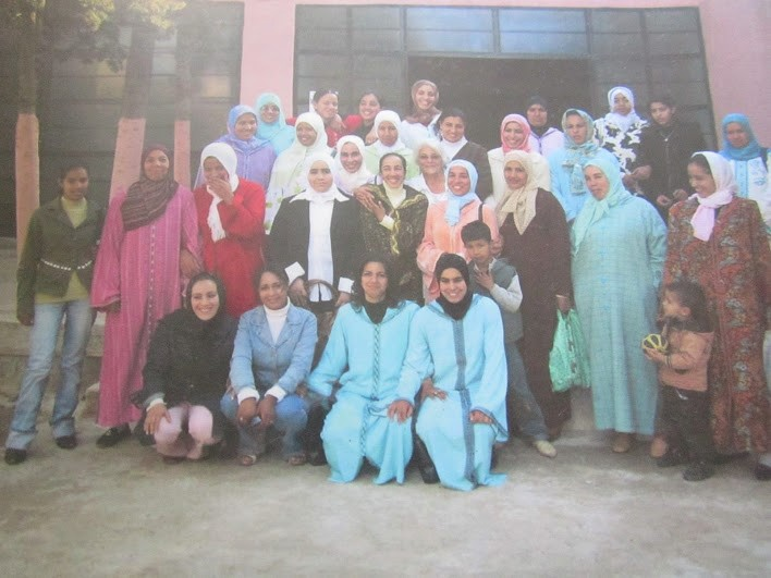 Khenifra ladies group pic